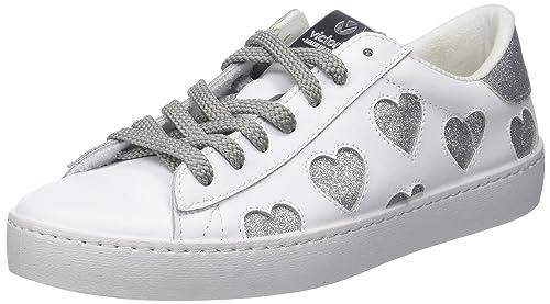 Victoria Deportivo Laser Corazones, Zapatillas Unisex Adulto, Plateado (Plata), 37 EU: Amazon.es: Zapatos y complementos