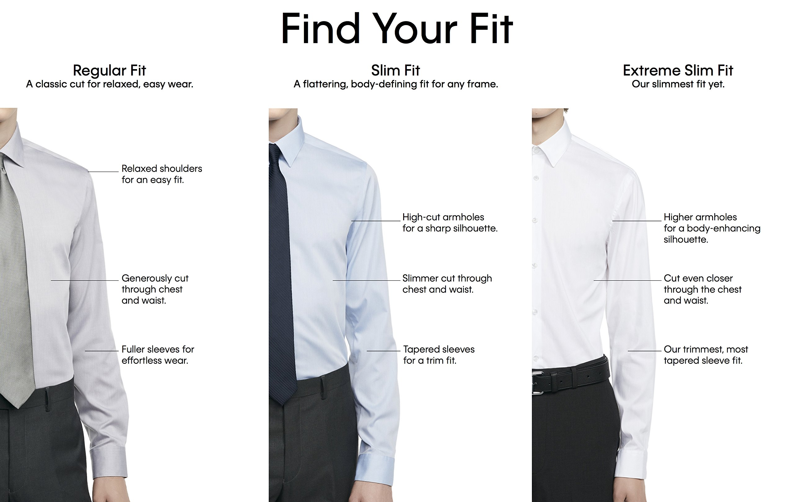 Calvin klein men 39 s big and tall non iron slim fit for Big and tall french cuff dress shirts