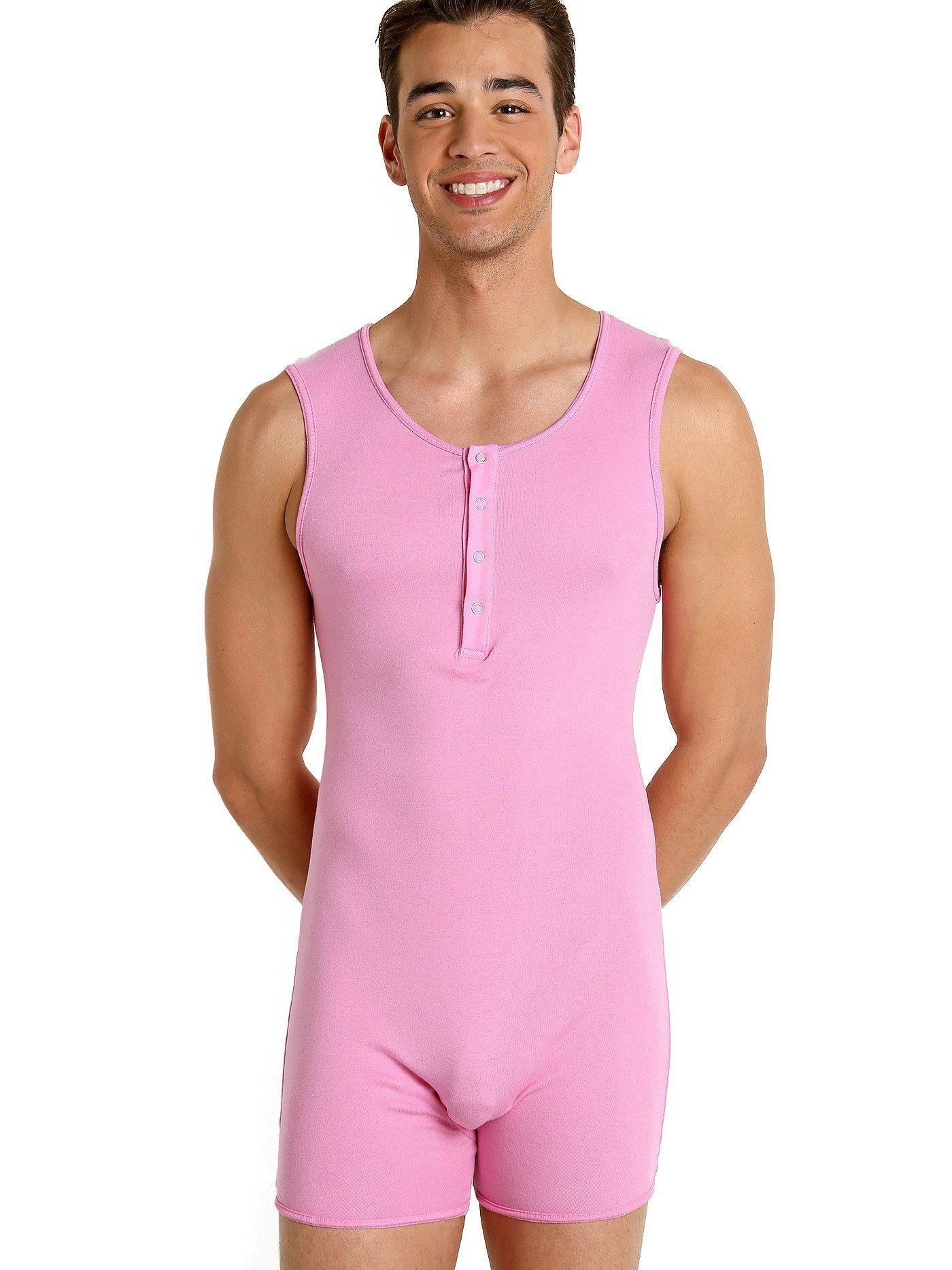 Go Softwear California Guy Onesie Deep Pink