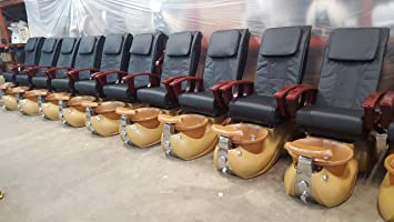Used Pedicure Chairs For Sale >> Amazon Com Used Diva Pedicure Spa Chair Beauty