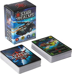 White Wizard Games WW500 Star Realms Deckbuilding Game,Multi-Colored