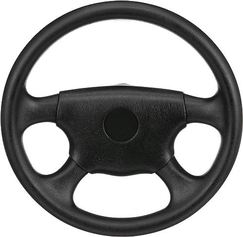 Universal UV-Resistant 4-Spoke Leather <span>Boat Marine Steering Wheel</span> [SeaChoice] Picture