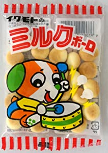Iwamoto Millk Bolo 30 packages Japanese Famous Junk Food Snack Dagashi