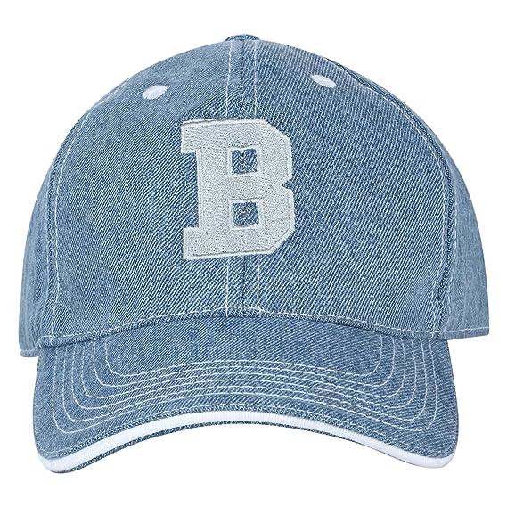 United Colors of Benetton Men s Baseball Cap (0IP6CAPBE070I-44D-ST Blue One  Size) 388de3ae95c8