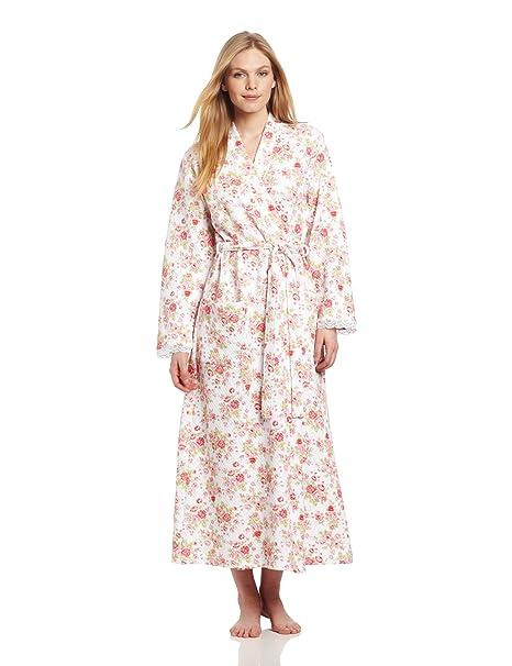 Amazon.com: carole hochman Women s Rose Cottage largo bata ...