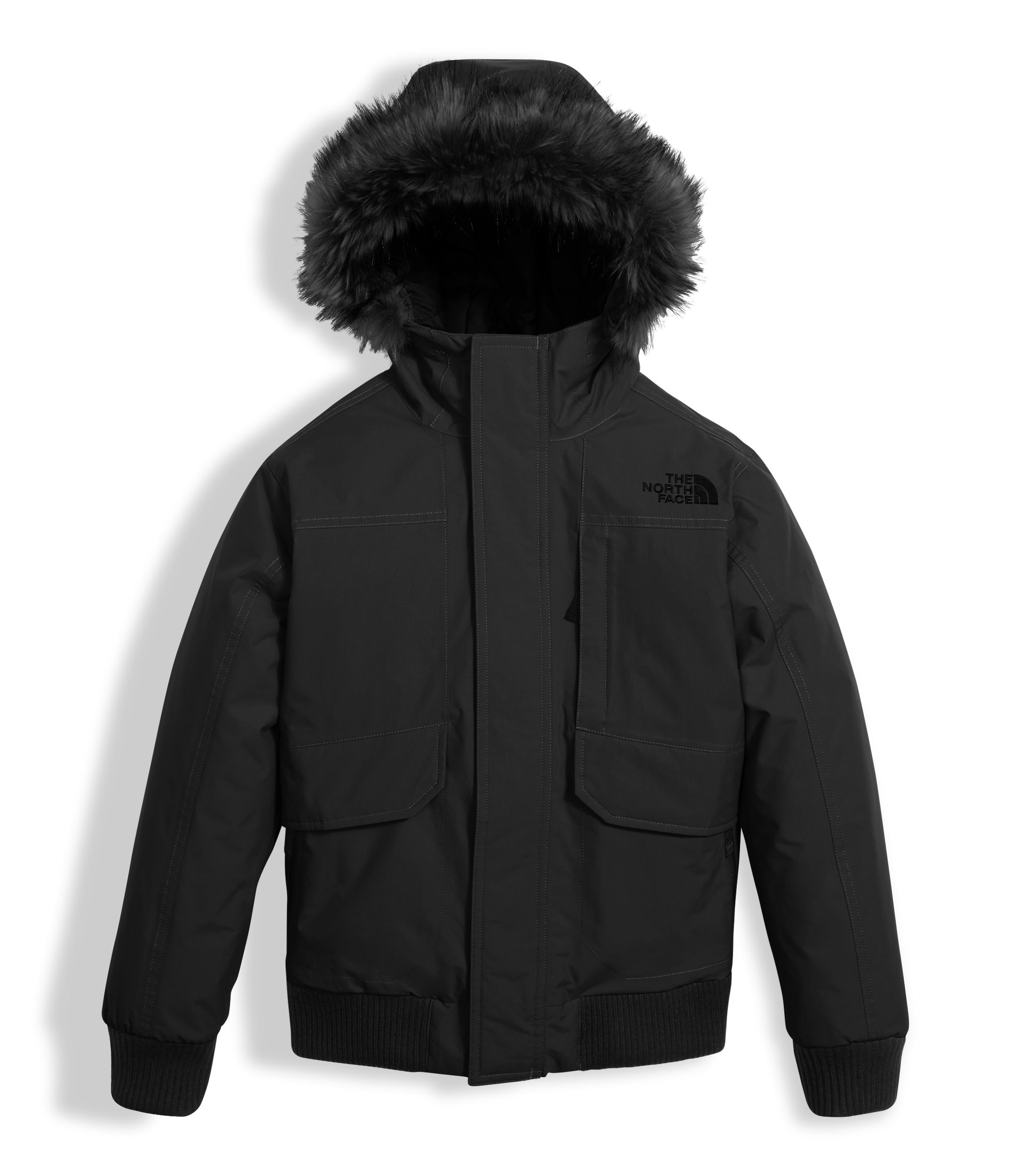The North Face Boy's Gotham Down Jacket - Black - S (Past Season) by The North Face