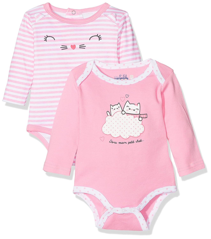 Dodo Homewear Body para Bebés (Pack de 2) LFD.CHATON.BOD2