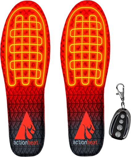 ActionHeat Rechargeable Heated Insoles