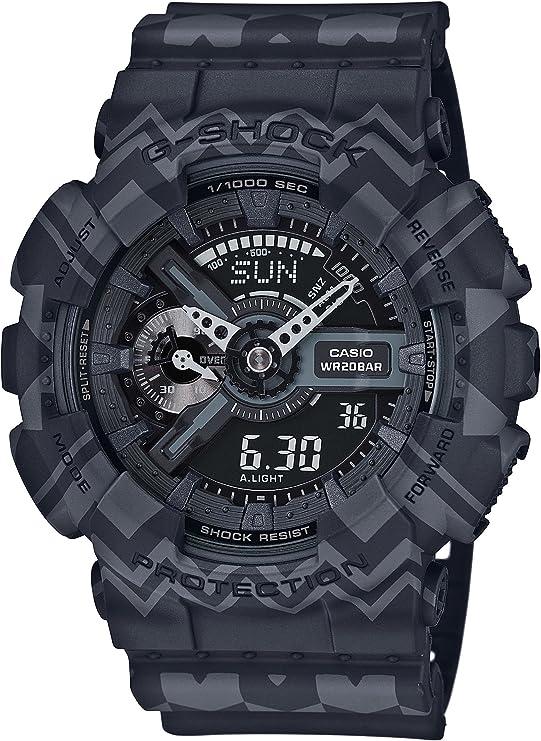 [カシオ] 腕時計 ジーショック Tribal Pattern Series GA-110TP-1AJF マルチカラー