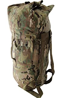 Military Army Style Heavy Duty Double Backpack Strap Duffel Duffle Bag 3579995e8201e