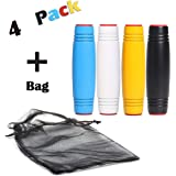 OP LABS Rolling Fidget Stick Pack - Set of 4 Sticks in Carry Bag for ADHD Focus, EDC Boredom, & Rollover Tricks - Boost…