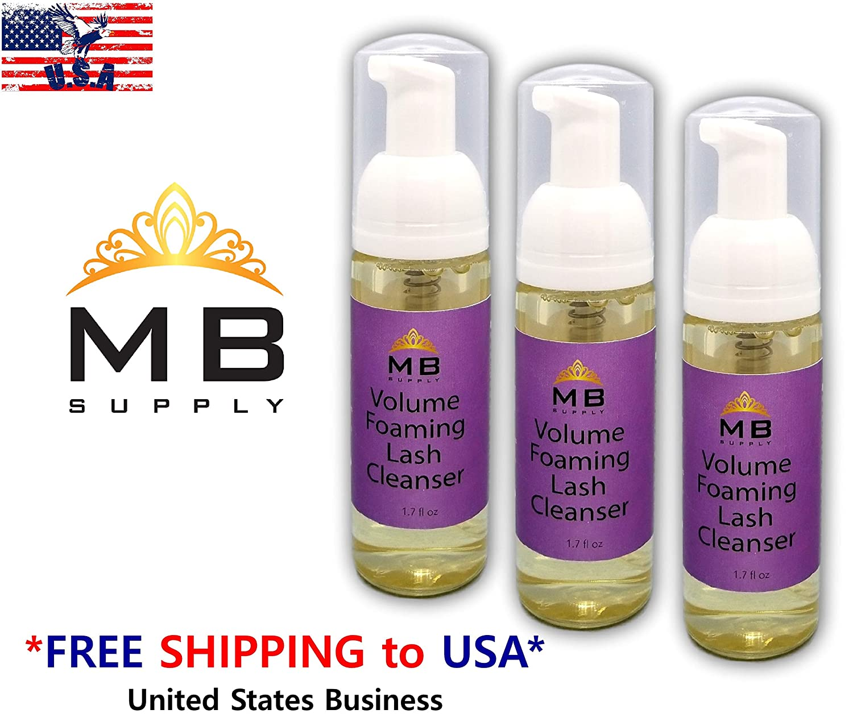 Amazon Mb Supply Volume Eyelash Extension 3d Foaming Cleanser