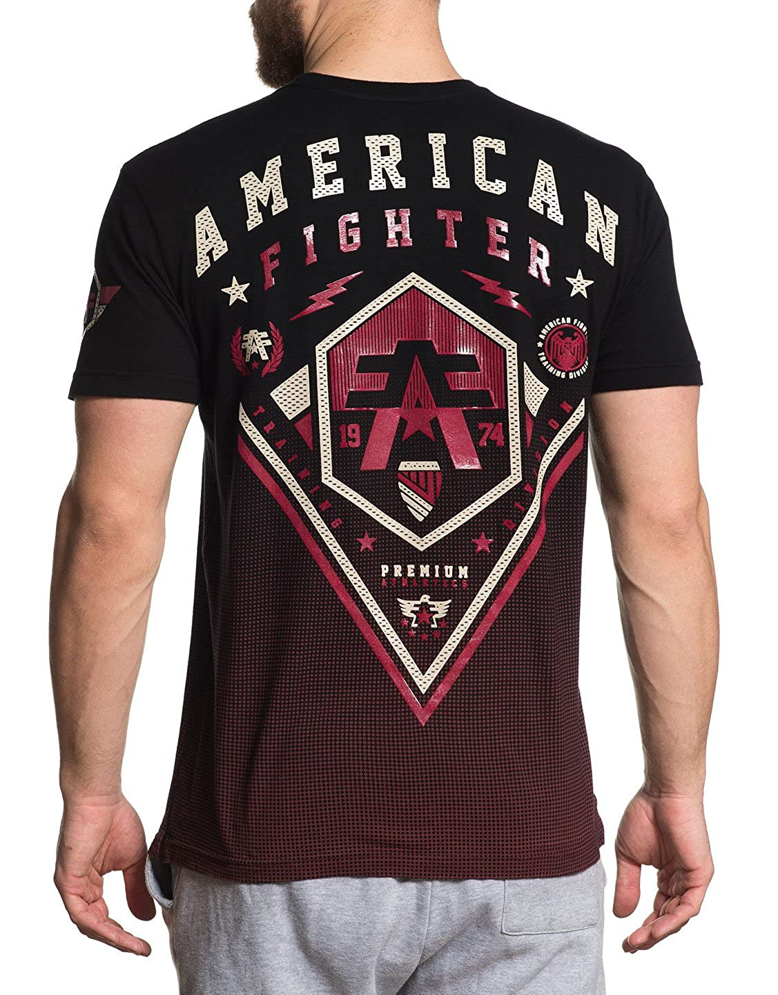 2c8b4fbc Amazon.com: American Fighter Men's Bellbrook Tee Shirt Black 3X-Large:  Clothing