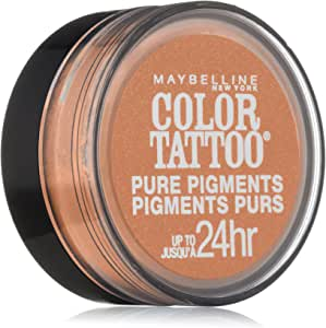 Maybelline New York Eye Studio Color Tattoo Pure Pigments, Barely Brazen, 0.05 Ounce