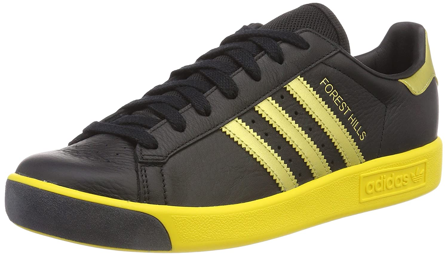 quality design 0cadc 7285d adidas Mens Forest Hills Low-Top Sneakers Amazon.co.uk Shoes