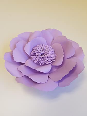 . Large Paper Flower 20cm  8 inch  Event Decorations  Wedding Photography   Flower Wall Decor