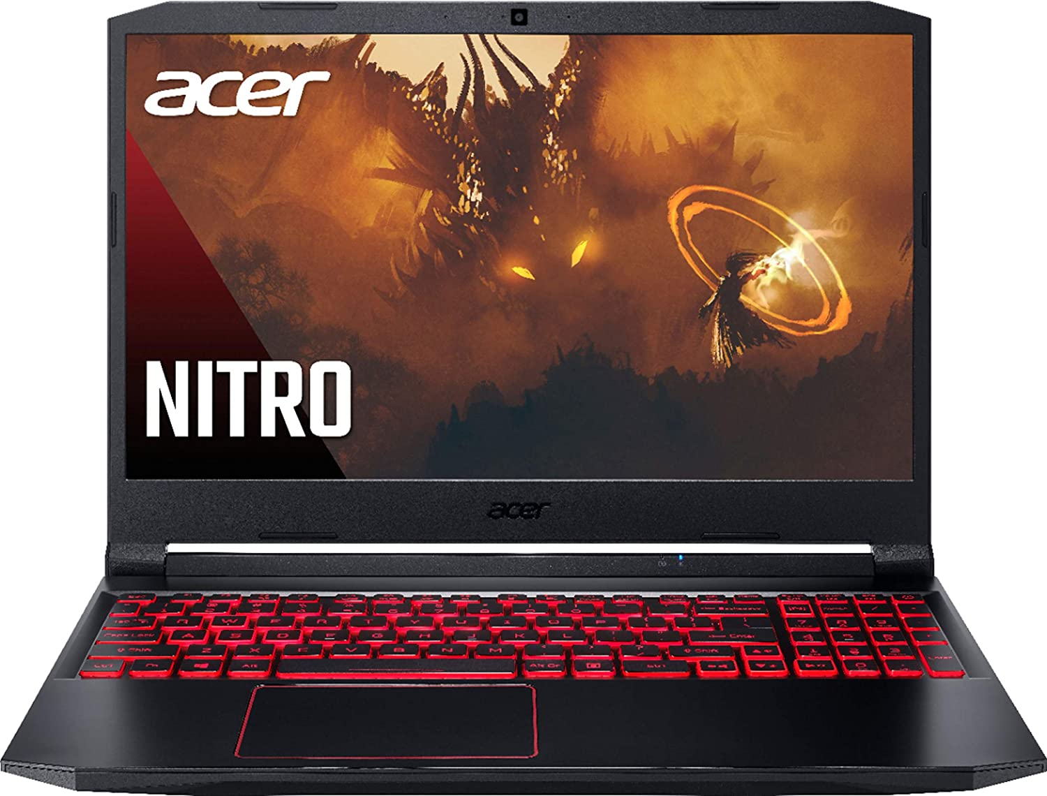 "Acer Nitro 5 15.6"" Laptop AMD Ryzen 5 4600H NVIDIA GeForce GTX 1650 with 4GB GDDR6 16GB DDR4 RAM, 512GB PCIe SSD, Backlit Keyboard, Windows 10 Home Obsidian Black"