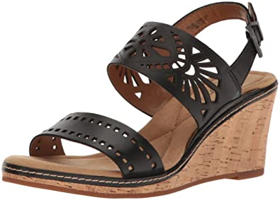 7da908bc5a Amazon.com | Easy Spirit Women's Kristina Wedge Sandal | Platforms ...