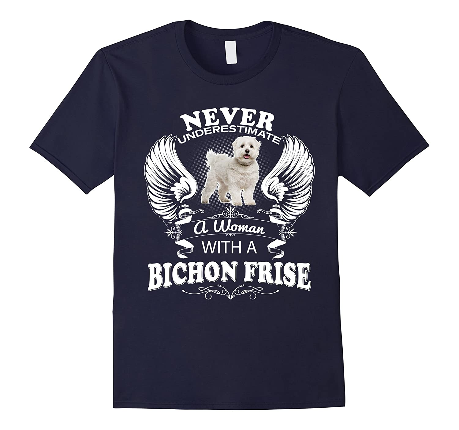 Bichon Frise Shirt Cute Gifts Mens Mom Tee Dog Lover T Shirt-Art