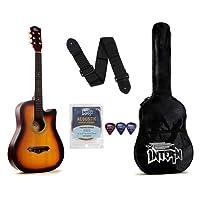 Intern INT-38C Acoustic Guitar Kit, Sunburst