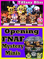 Five Nights at Freddy's Funko FNAF Mystery Minis Vinyl Figures Blind Bag Boxes FULL CASE Opening