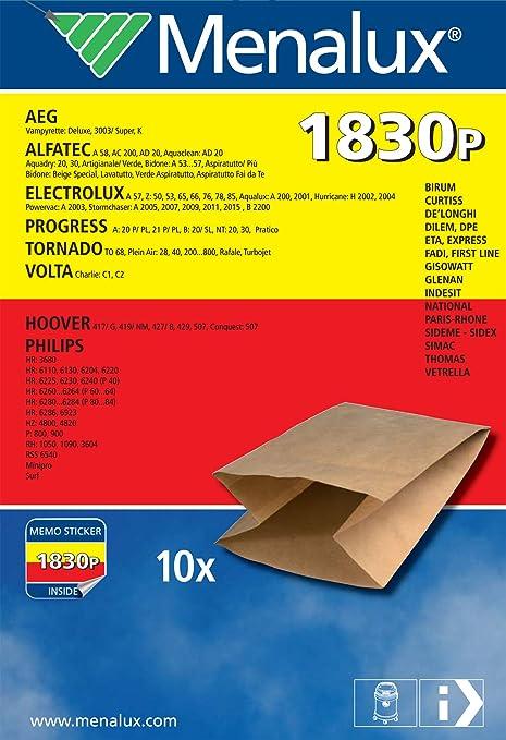 15 opinioni per Menalux 900196230 1830P Sacchetti per Bidone Alfatec, Bidone Dpe 192