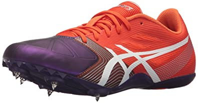 ASICS Women's Hyper-Rocketgirl SP 6 Cross Country Spike Shoe, Orange/White/