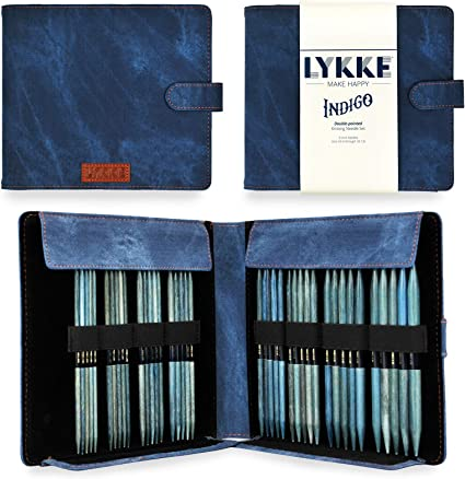 2 US 10 in Lykke :Driftwood Single Pointed Needles:
