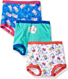 Peppa Pig Girls GTP6024 Girls' 3pk Training Pant Panties - Multi
