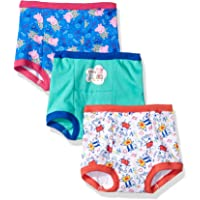 Peppa Pig Girls GTP6024 Girls' 3pk Training Pant Panties - Multi