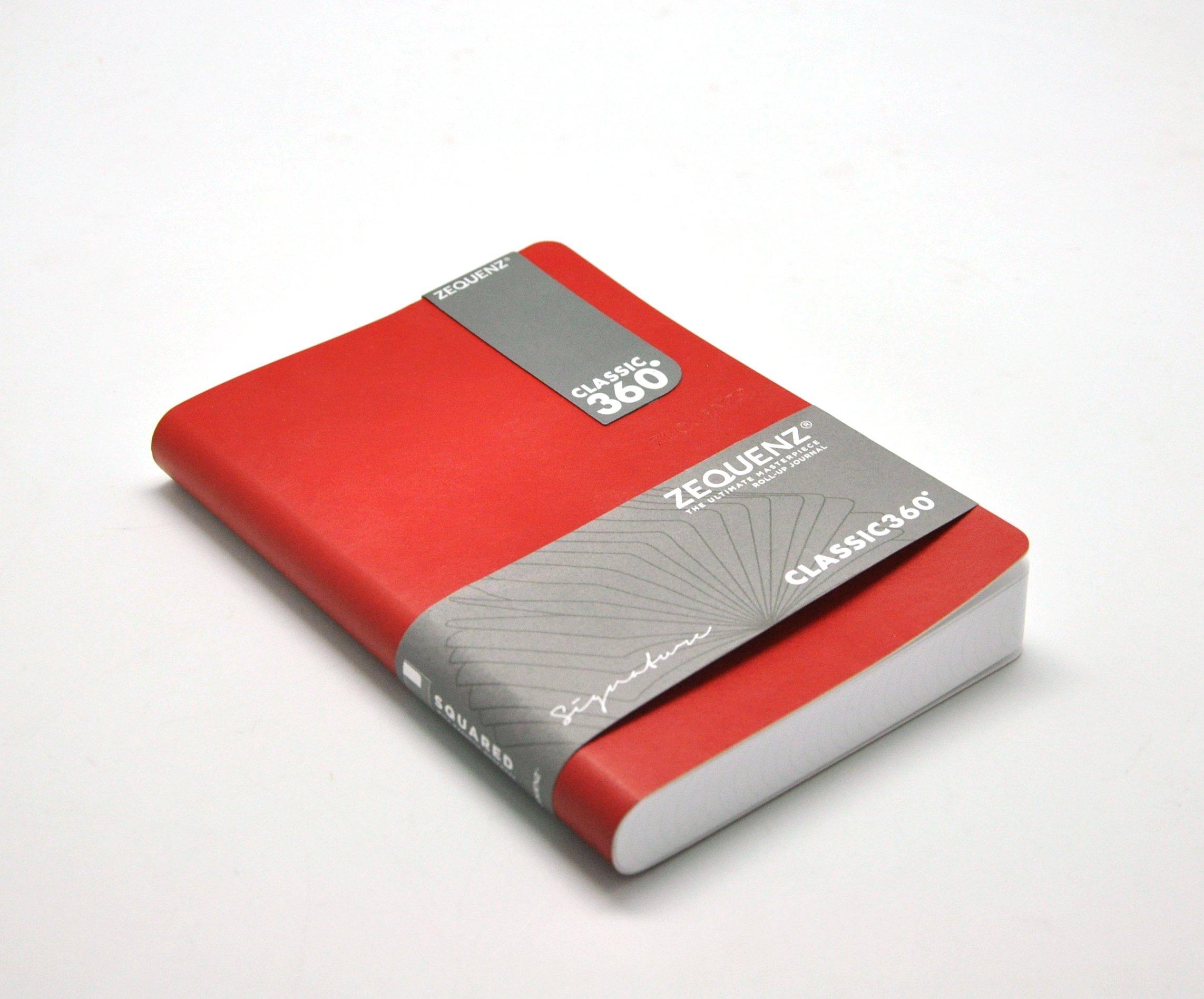 zequenz classic 360 soft cover notebook soft bound journal medium