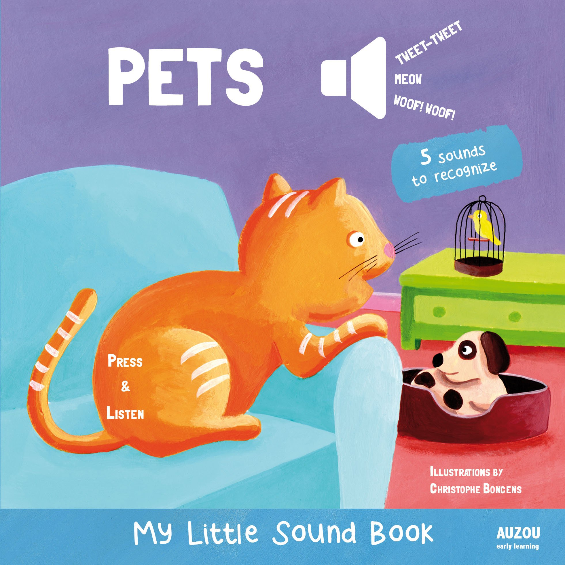 Pets - My Little Sound Book (My Little Sound Books)