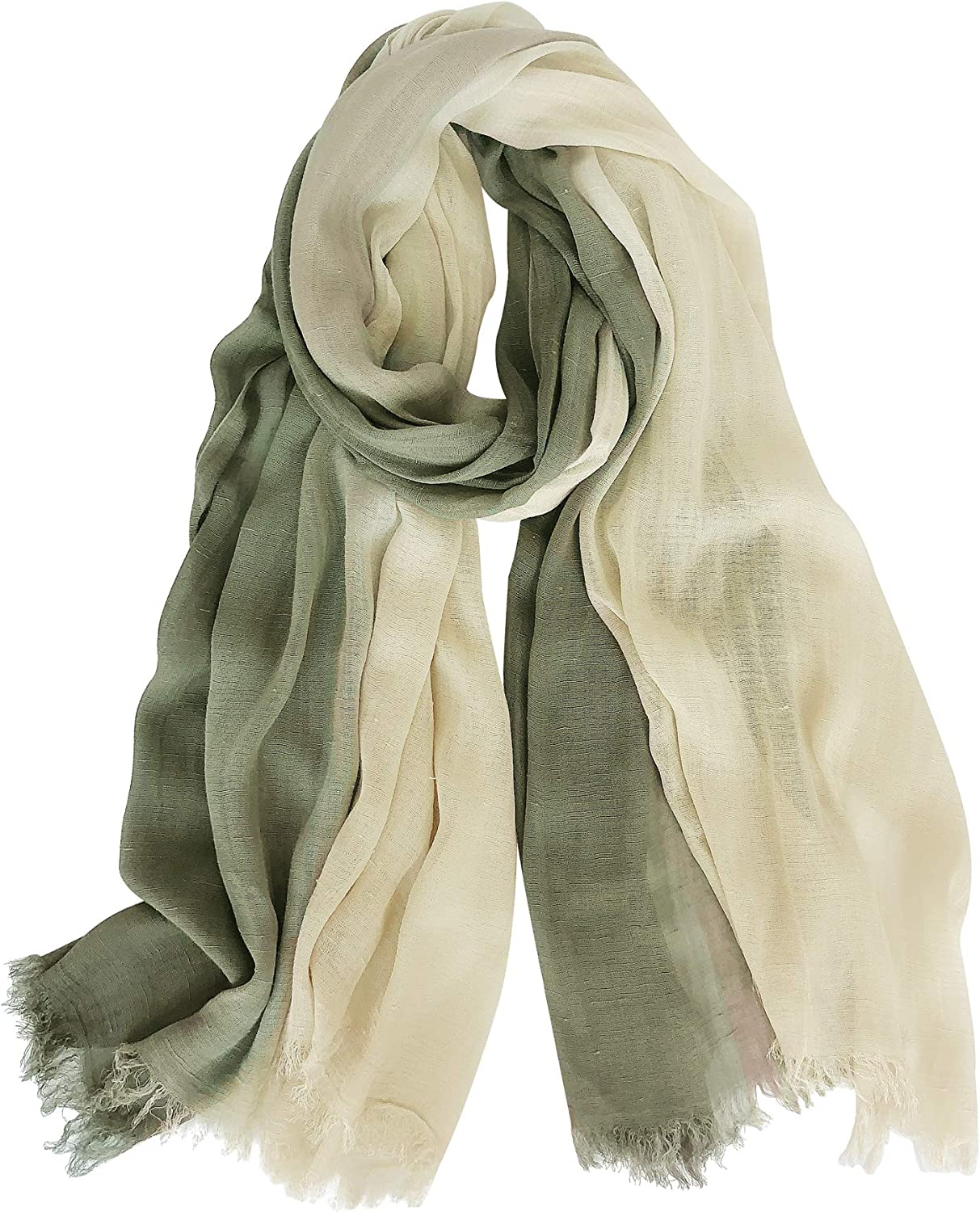 GERINLY Two Tone Linen...