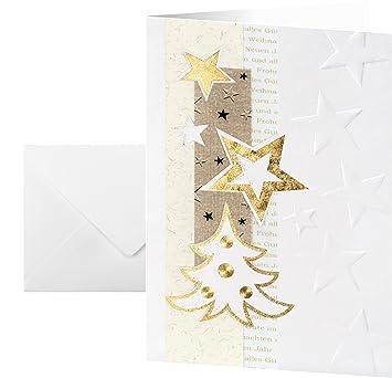 Weihnachtskarten Beschriften.Sigel Ds376 Weihnachtskarten Set Mit Umschlag Din A6 10 Stück Weitere Designs