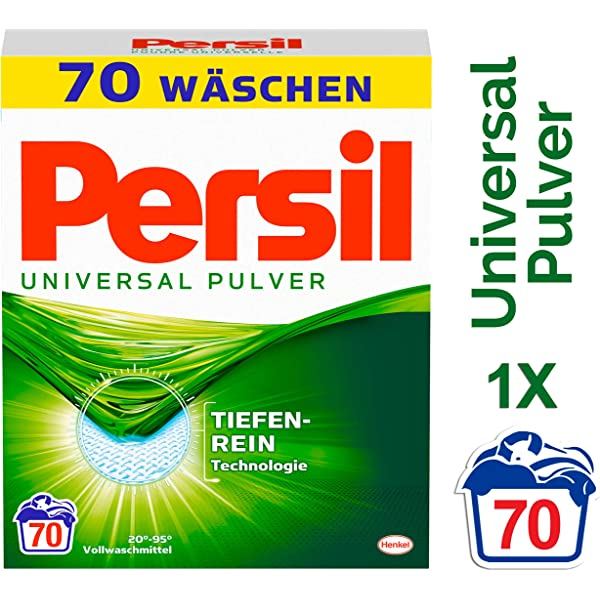 Persil Universal - Polvo para cabello (1 unidad, 4,55 kg ...
