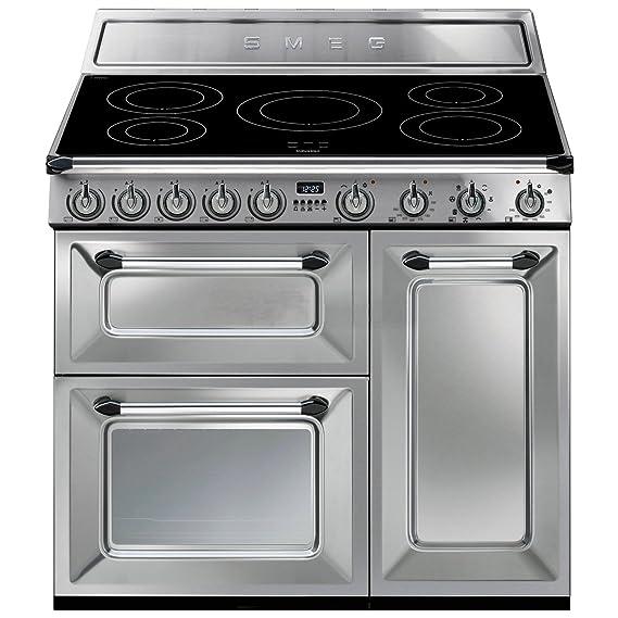 Smeg TR93IX - Cocina (Cocina independiente, Acero inoxidable ...