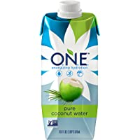 O.N.E. Pure Coconut Water, 16.9 Ounce (Pack of 12)