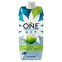 O.N.E. Pure Coconut Water, Non-GMO Project Verified, No Added Sugar, Gluten Free...