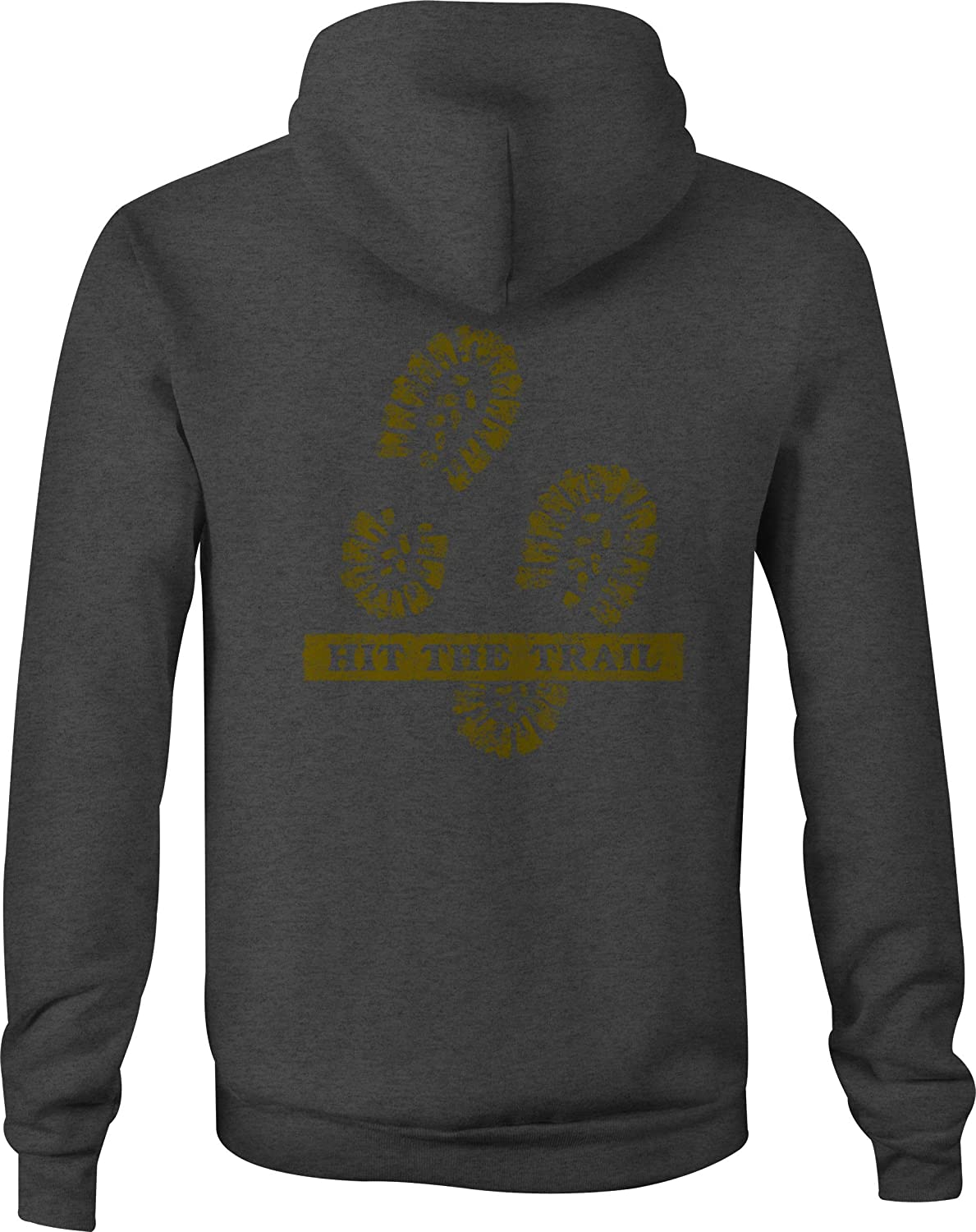 Zip Up Hoodie Hit The Trail Mud Boots Off Road Hiking Outdoors