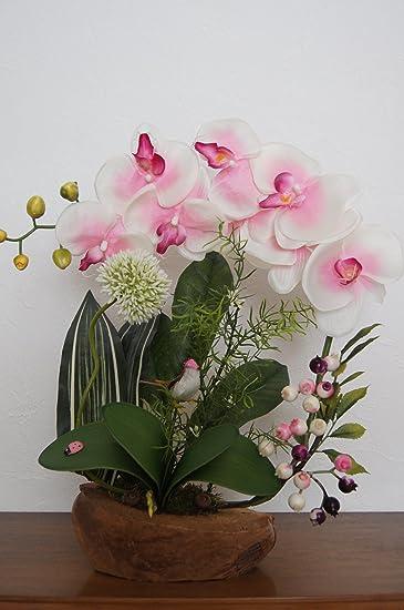 Tatjana Land Deko Orchideen In Kokosschale Kunstblume Kunstliche