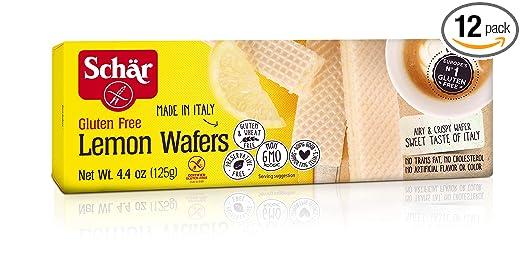 Schär Gluten Free - Cortacésped de limón (4,4 oz, 12 ...
