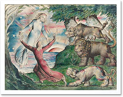 Beast Wall Art Poster Print William Blake