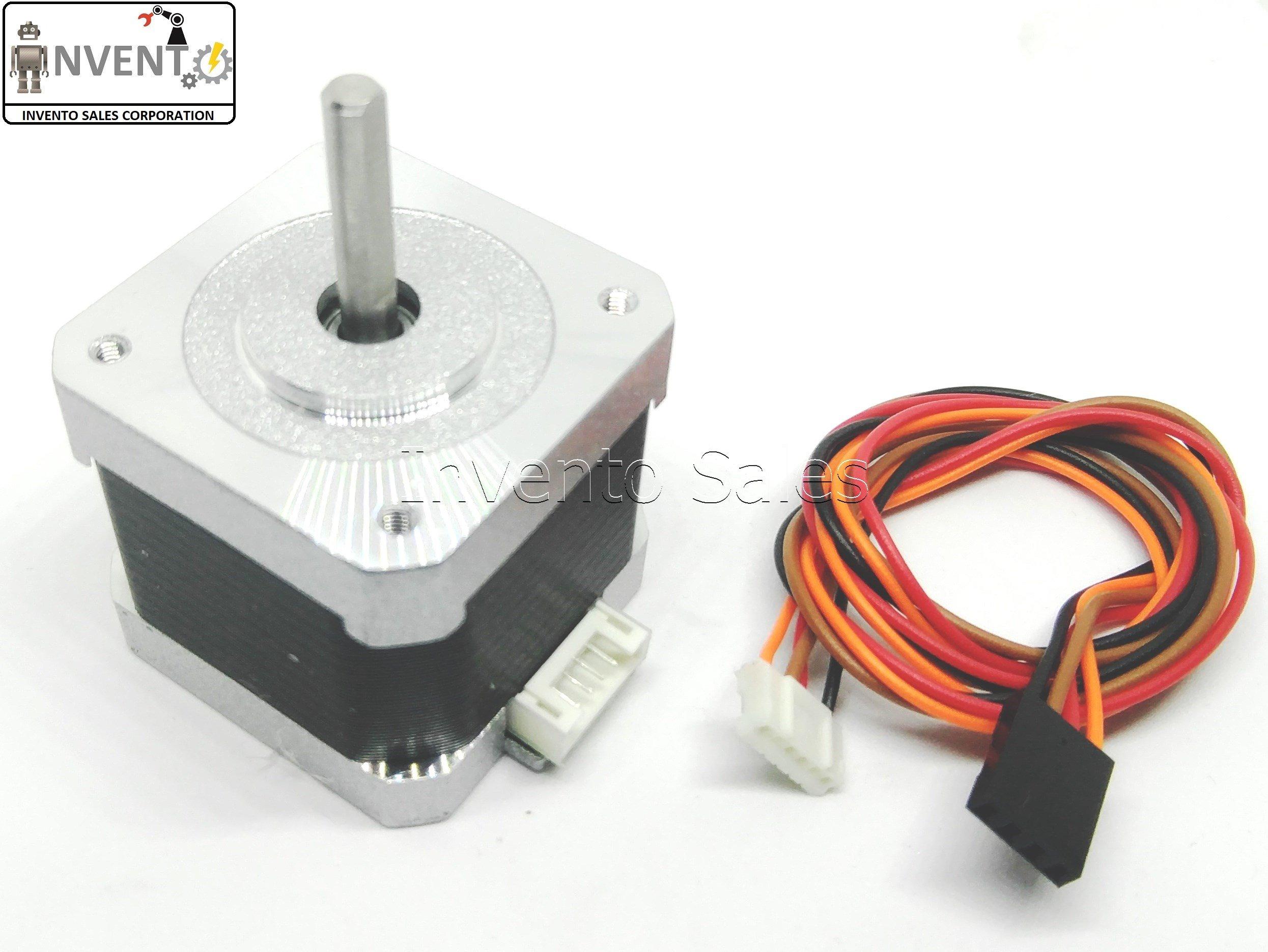 INVENTO ISC 224 Nema 17 4.2 Kg-cm Bipolar Stepper Motor CNC Robotics DIY Projects 3D Printer product image