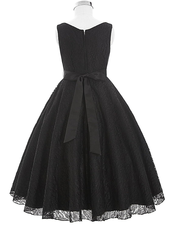 GRACE KARIN Elegant Sleeveless Flower Girl Dress Bridesmaid Wedding Dress:  Amazon.co.uk: Clothing
