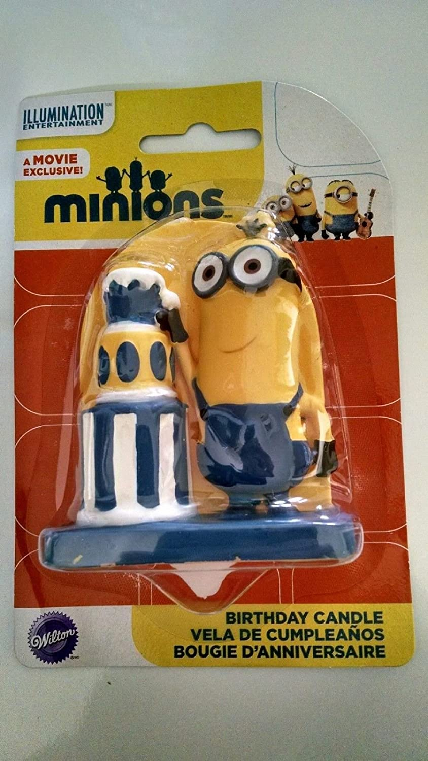 Amazon.com: Despicable Me Minion Birthday Cake Candle Party ...