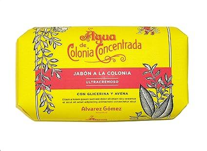 Álvarez Gómez - Jabón en Pastilla con Aroma Colonia Clásica - 125 gr