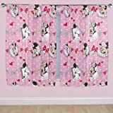 Disney 54-inch Minnie Mouse Cafe Curtains, Multi-Colour