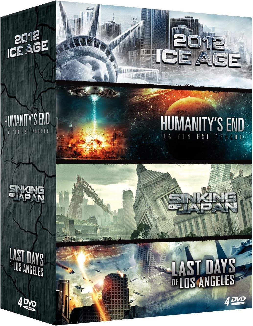 Amazon.co.jp: coffret fin du monde 4 DVD : 2012 Ice Age + ...