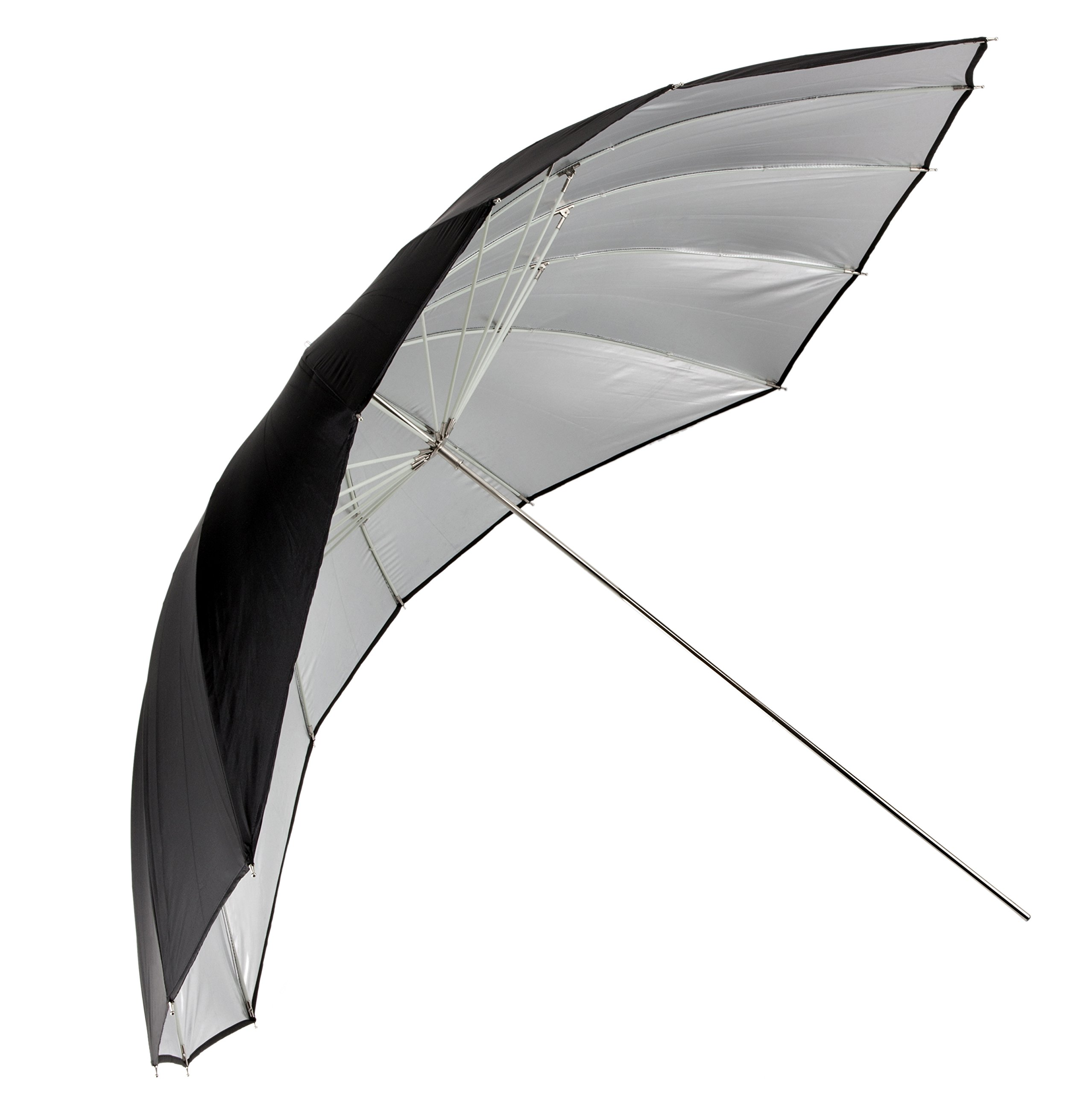 ''Angler ParaSail Parabolic Umbrella (White with Removable Black/Silver, 60'''')''