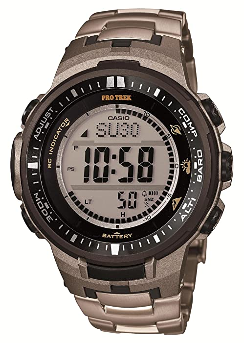 Amazon.com: Casio PROTREK Triple Sensor Ver.3 Tough Solar ...